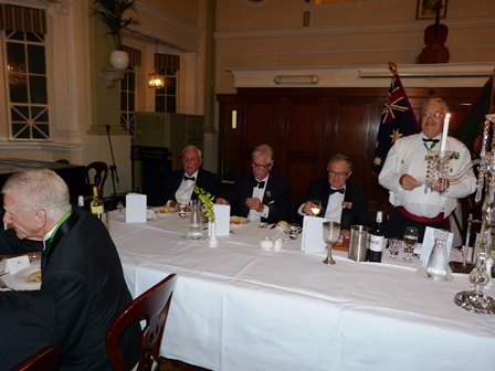 At the UNSWR 65 Anniversary Dinner
